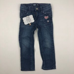 Toddler Girls Levi's Slim Straight Leg Jeans